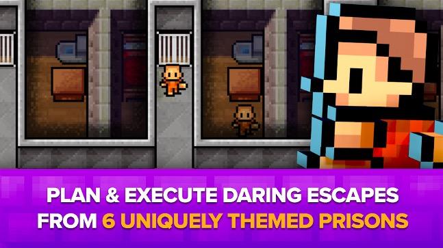 محیط بازی The Escapists: Prison Escape