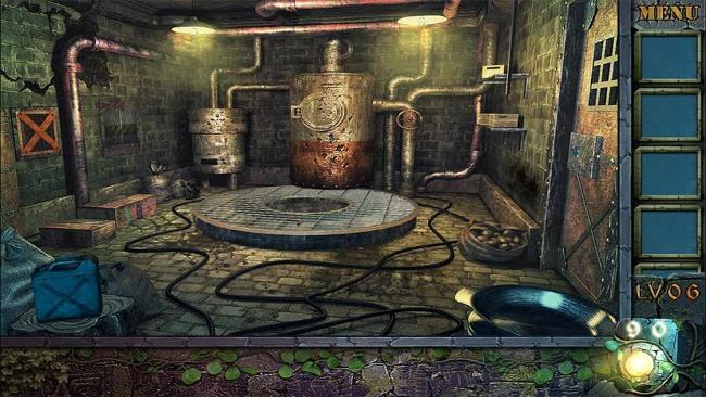محیط بازی Can You Escape the 100 Room V