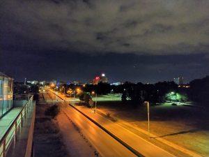 شب، لنز اصلی، حالت Night Mode