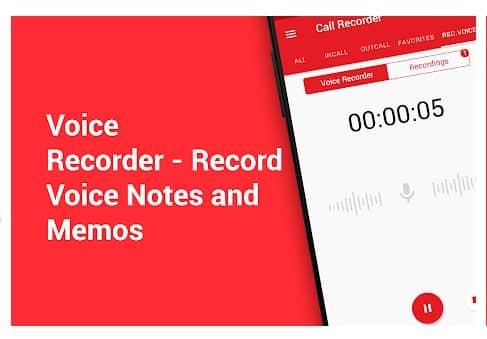 محیط برنامه Call Recorder - Automatic Call Recorder