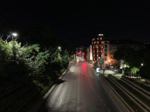 خیابان، بدون حالت شب، آیفون ایکس اس مکس