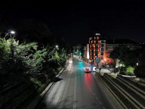 خیابان، حالب شب خاموش، هواوی پی30 پرو