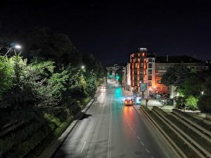 خیابان، حالت شب روشن، هواوی پی30 پرو