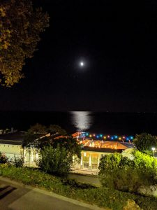 ساحل مهتابی، حالت شب خاموش، گوگل پیکسل 3