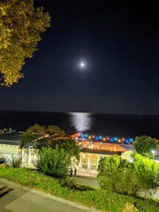 ساحل مهتابی، حالت شب روشن، گوگل پیکسل 3
