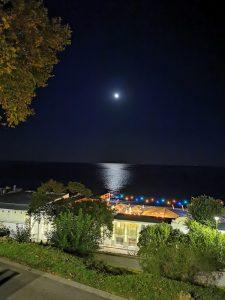 ساحل مهتابی، حالت شب روشن، هواوی پی30 پرو