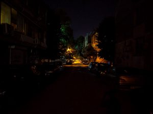 تاریکی مطلق، گوگل پیکسل 3