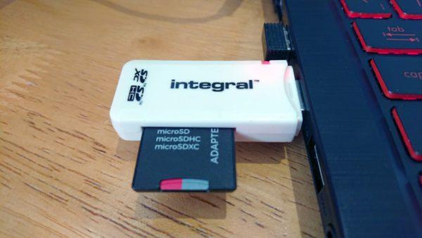 انتقال فایل از اندروید به کامپیوتر با رم ریدر و OTG