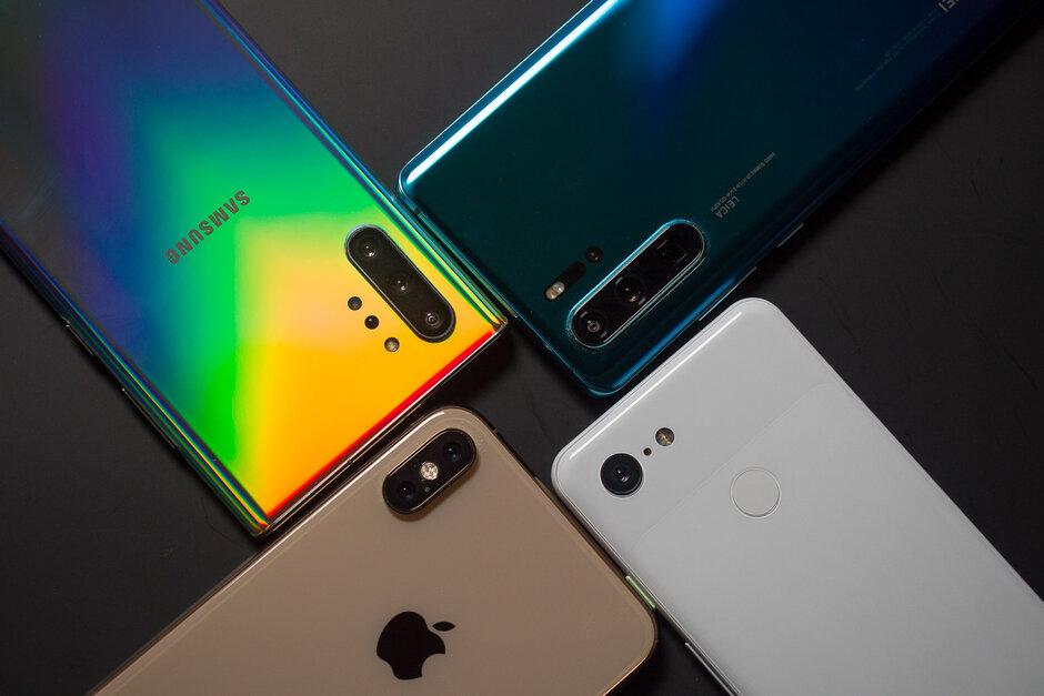 چهار اسمارت فون برتر جهان