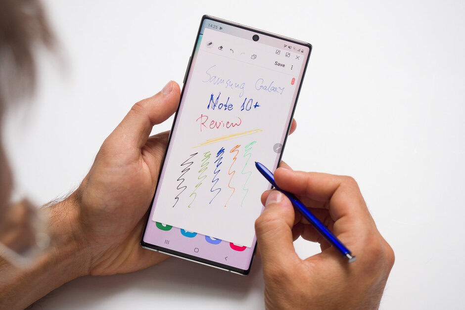طراحی و نوشتن با قلم S Pen