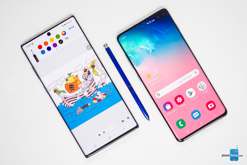 Galaxy Note 10 Plus & Galaxy S10 Plus