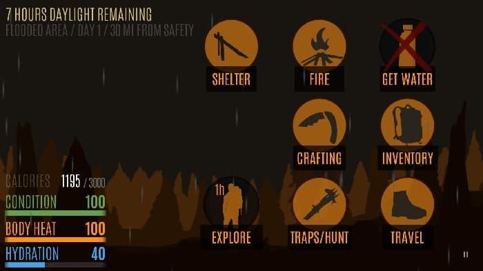 ابزار متنوع و گوناگون و مختلف درون بازی