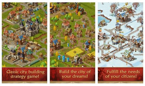 محیط بازی Townsmen