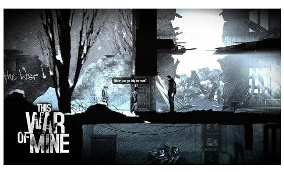 محیط بازی This War of Mine