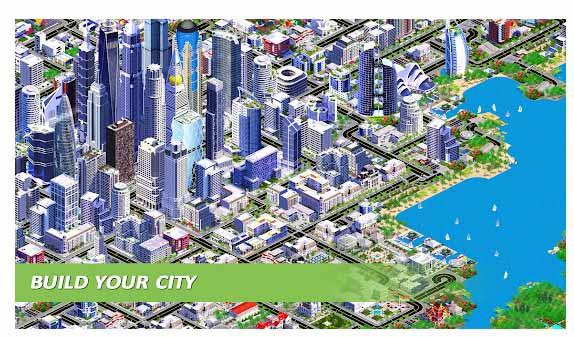 محیط بازی Designer City