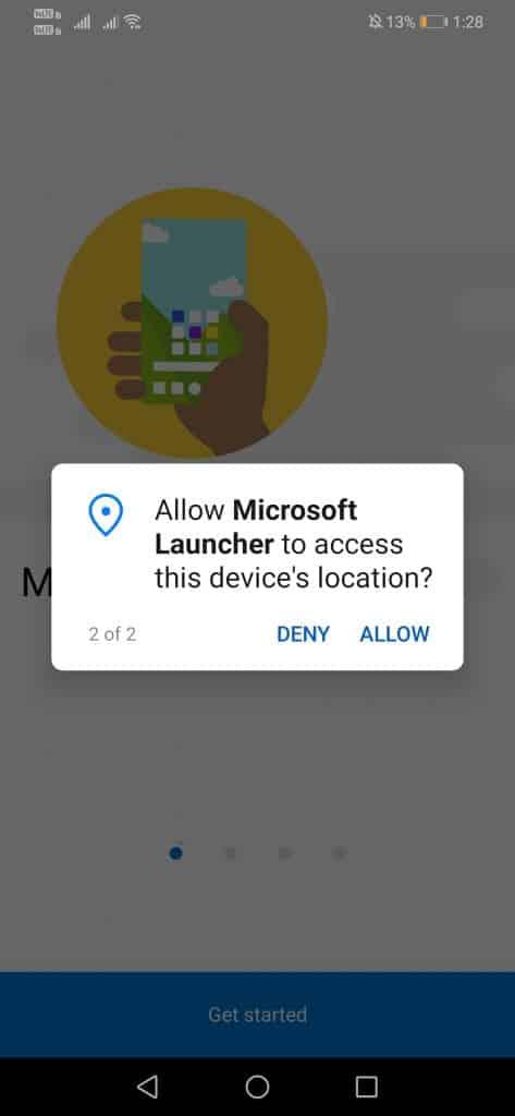 دادن دسترسی به برنامه ماکروسافت لانچر