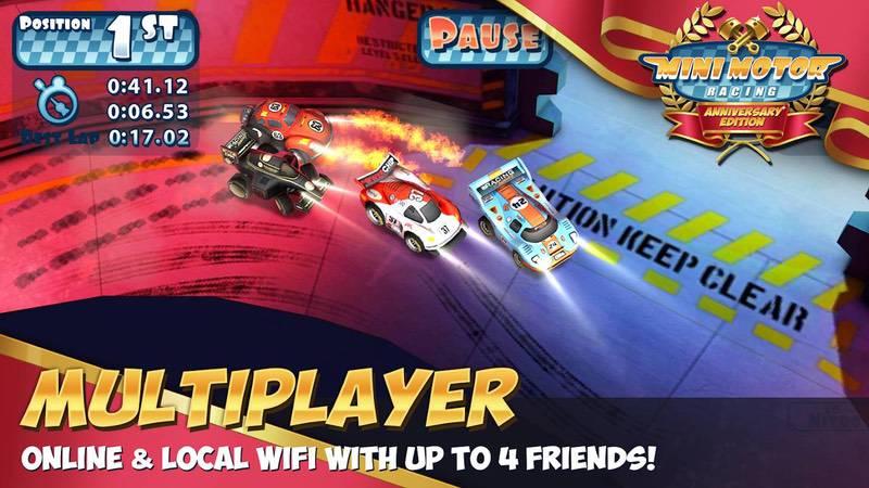 محیط بازی Mini Motor Racing