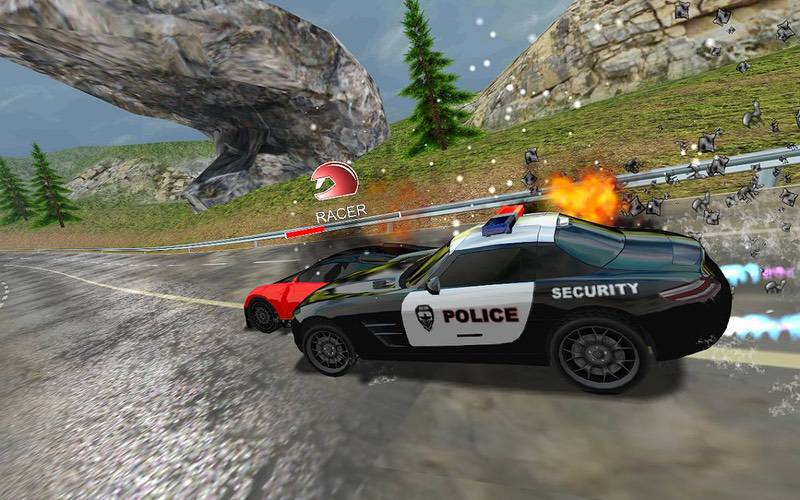 محیط بازی Racers Vs Cops