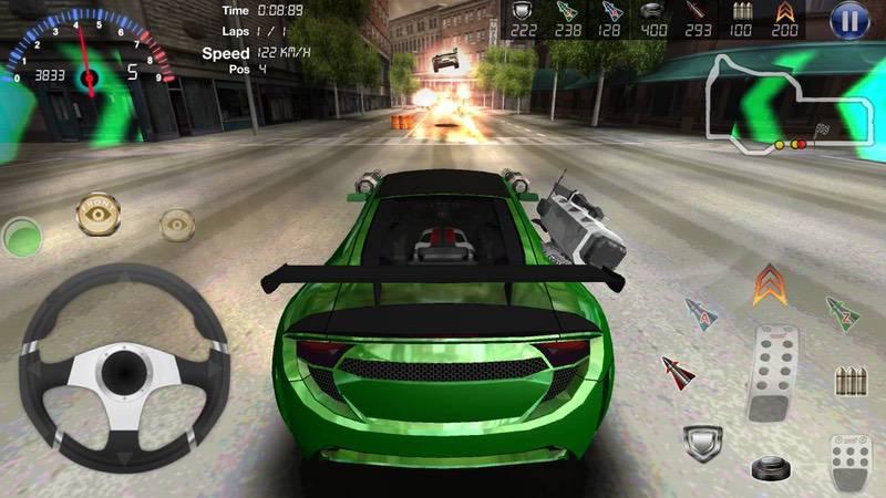 محیط بازی Armored Car 2