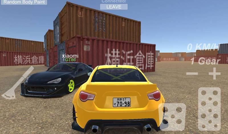 محیط بازی Reality Drift Multiplayer