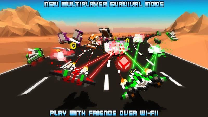 محیط بازی Hovercraft: Takedown