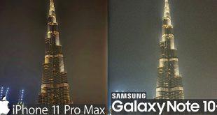 مقایسه دوربین iPhone 11 Pro Max و Note 10+