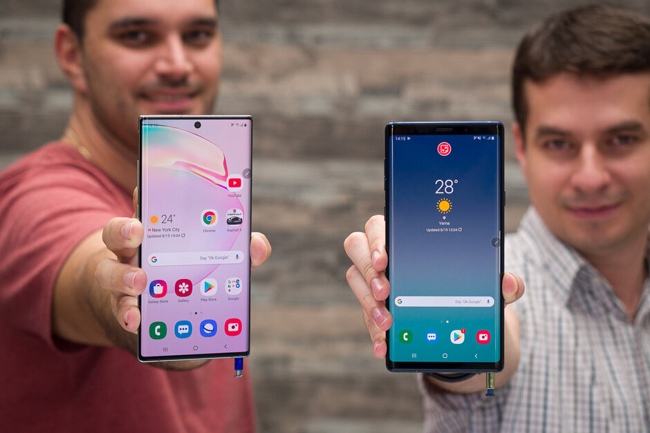 Galaxy Note 10 Plus و Galaxy Note 9