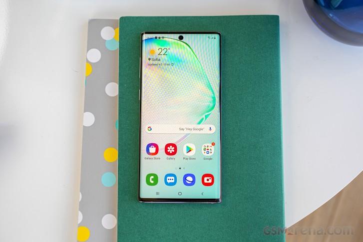 نمایشگر Galaxy Note 10