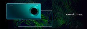 رنگ سبز فیروزه ای Mate 30 Pro