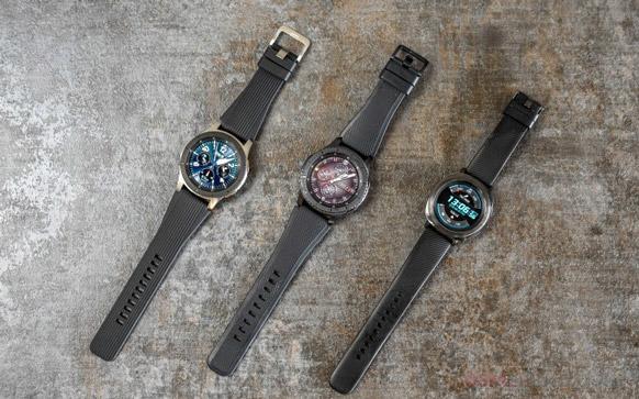 Gear S3، Gear Sport و Galaxy Watch