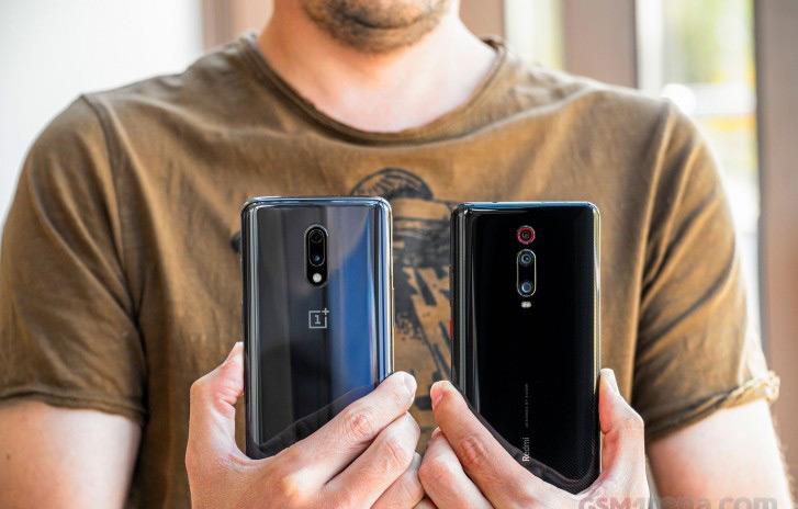Redmi K20 Pro & OnePlus 7