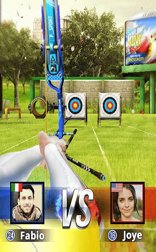 محیط بازی Archery King
