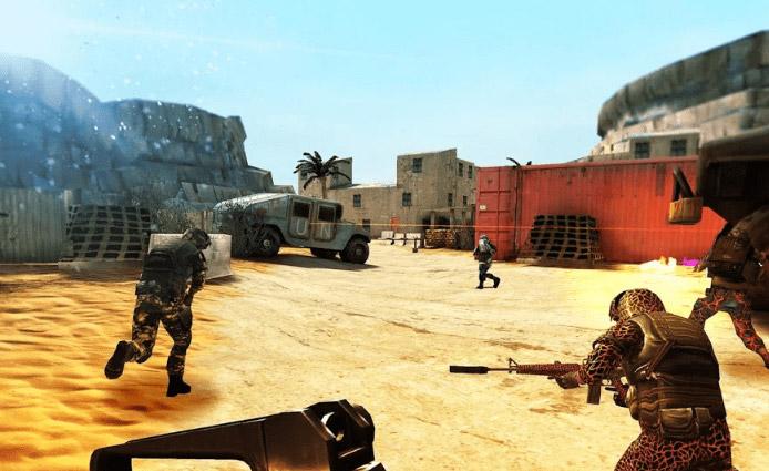 محیط بازی Bullet Force