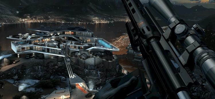 محیط بازی Hitman Sniper