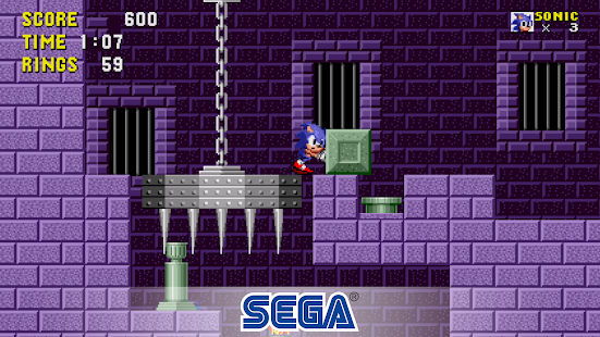 بازی سرگا Sonic The Hedgehog Classic