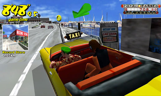 بازی سگا Crazy Taxi Classic