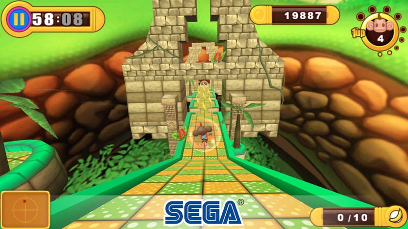 بازی سگا Super Monkey Ball: Sakura Edition Classic