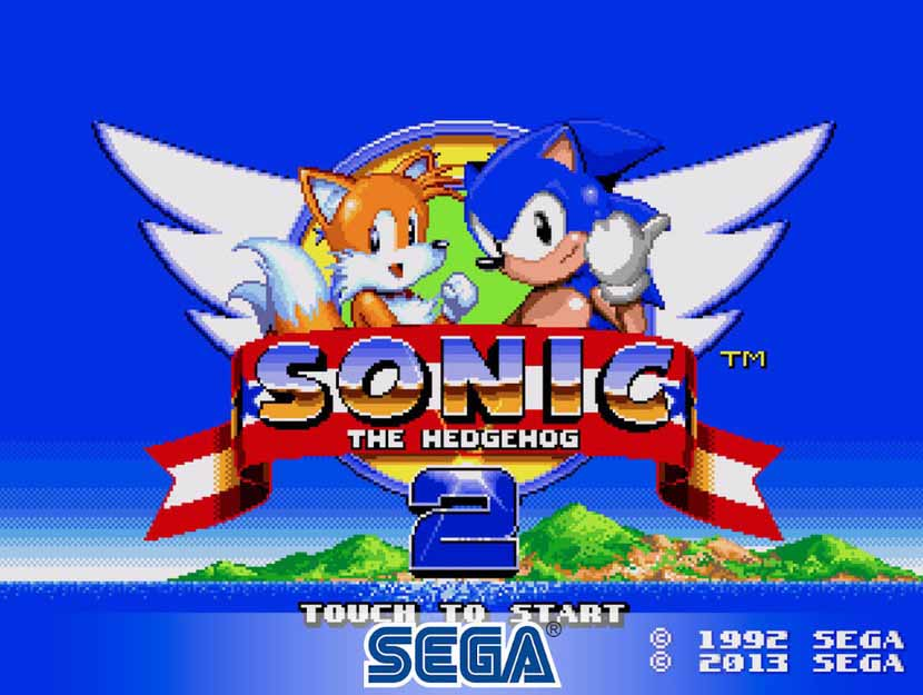 بازی سگا Sonic The Hedgehog 2 Classic
