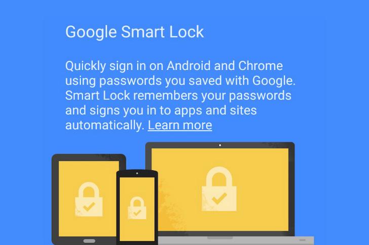 مدیریت پسورد Google Smart Lockاندروید
