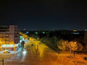 شب، لنز فوق عریض، حالت Night Mode
