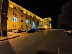 شب، Photo Mode، دوربین فوق عریض Note 10 Plus
