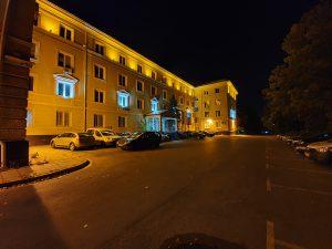 شب، Night Mode، دوربین فوق عریض Note 10 Plus