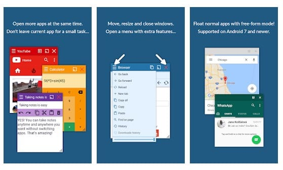 ویدیو پلیر Floating Apps Free (multitasking)