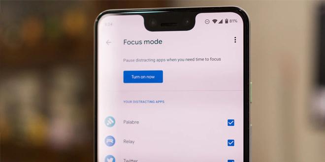 چگونه Focus Mode سلامت دیجیتال گوگل را در اندروید 10 فعال کنیم؟