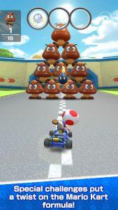 محیط بازی Mario Kart Tour