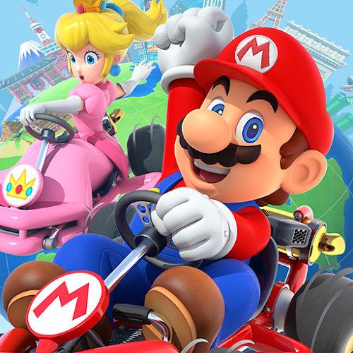 لوگوی بازی Mario Kart Tour اندروید