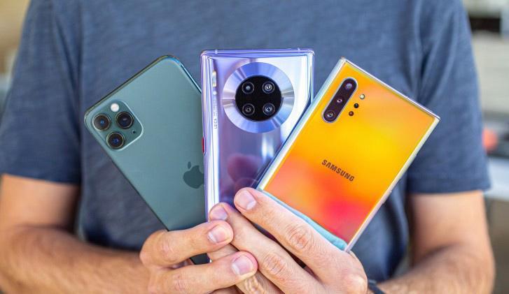Mate 30 Pro vs iPhone 11 Pro vs Note 10 Plus