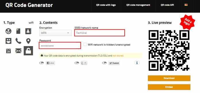واد کردن مشخصات Wifi