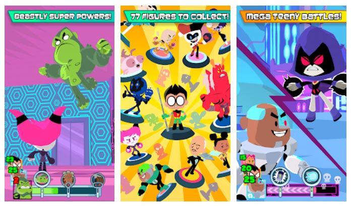 بازی Teeny Titans - Teen Titans Go! اندروید