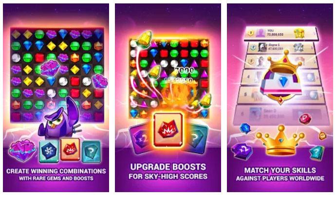 بازی سه رنگ مشابه Bejeweled Blitz اندروید